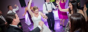 Fun memories are created during weddings and receptions at Riverbanks