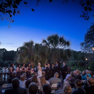 Weddings At Riverbanks At Sunset