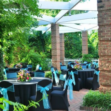 Outdoor Wedding Receptions at Riverbanks