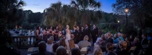Elegant weddings with sunset ceremonies at Riverbanks
