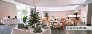 The Magnolia Room at Riverbanks Zoon and Gardens is perfect for events
