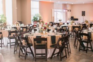 Outdoor wedding venue with indoor backup plan, Riverbanks Zoo in Columbia, SC