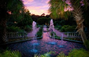 Wedding venue in Columbia, South Carolina features full service garden setting and ammenities