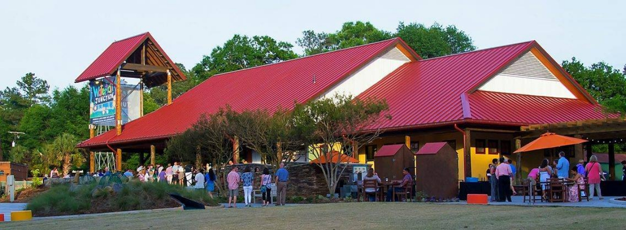 Corporate reception venue for large groups at Riverbanks Zoo in Columbia, South Carolina
