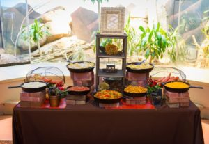Exclusive menus for special event catering at Riverbanks Zoo in Columbia, South Carolina