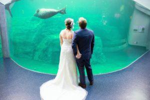 Animal experiences highlight the unique wedding event venue in Columbia, SC