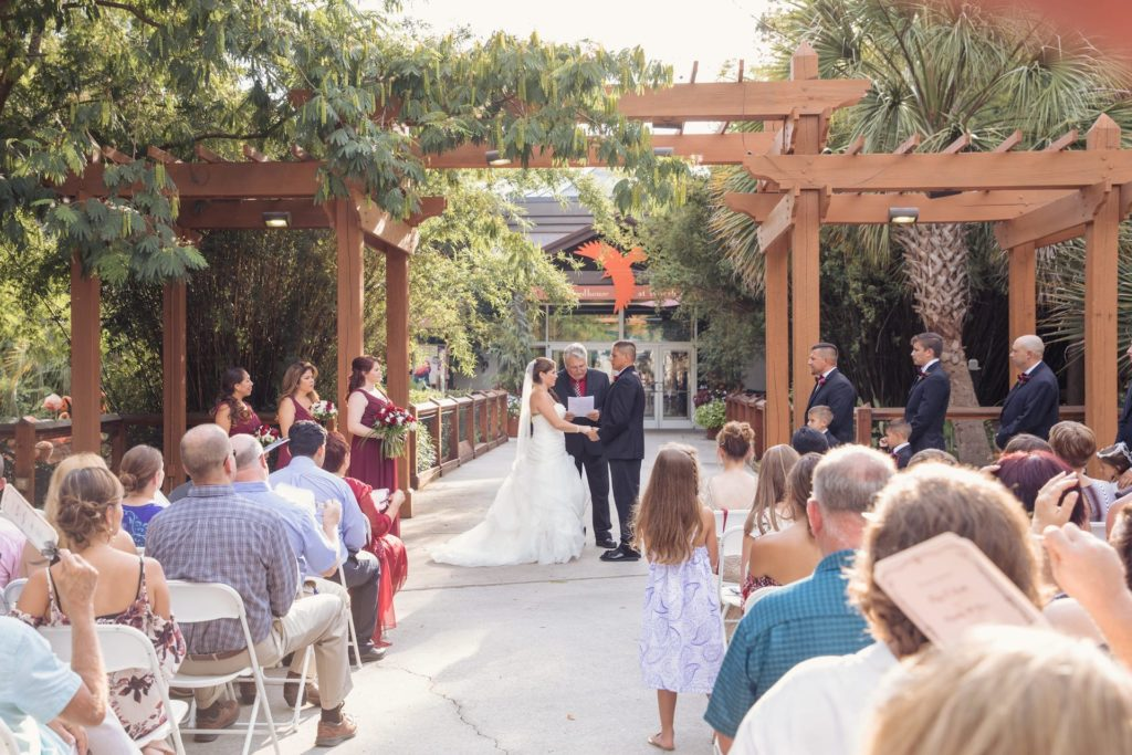 outdoor wedding ceremony venue columbia south carolina