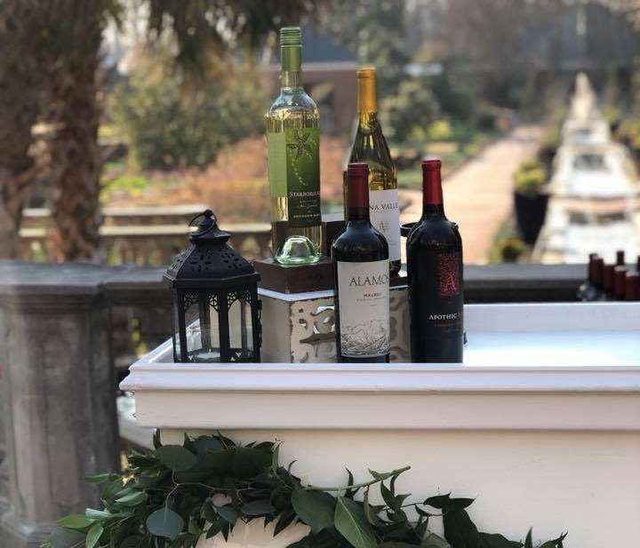 Bar setup at the Riverbanks Zoo Private Events Showcase - Columbia, SC