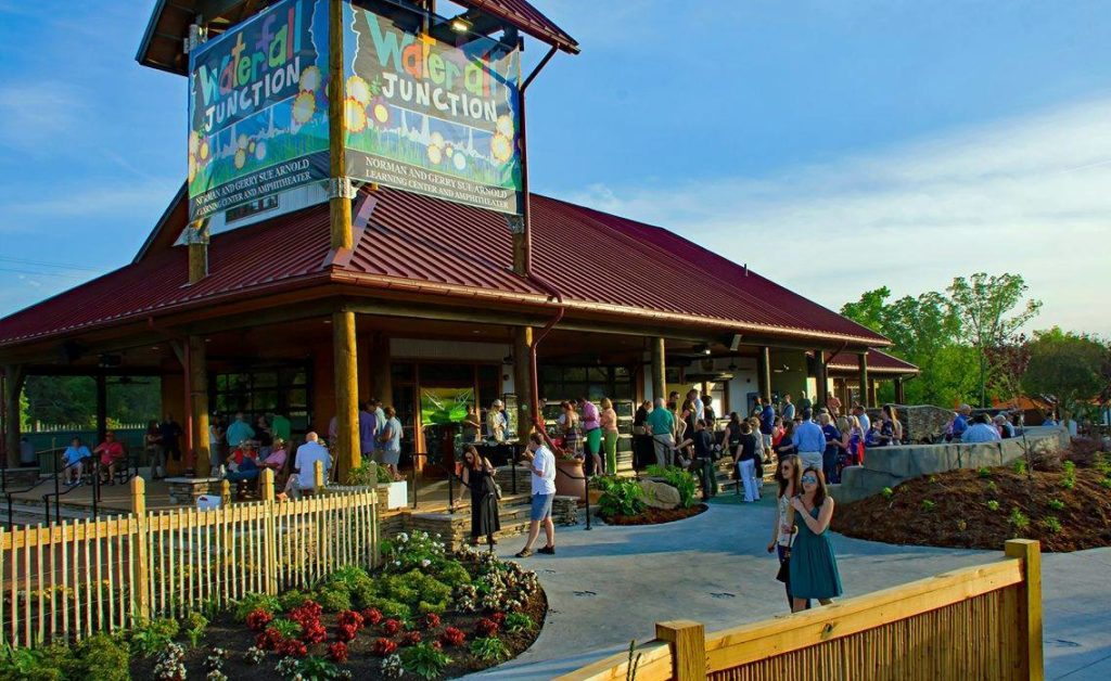 Plan a unique company event or employee picnic at Waterfall Junction!