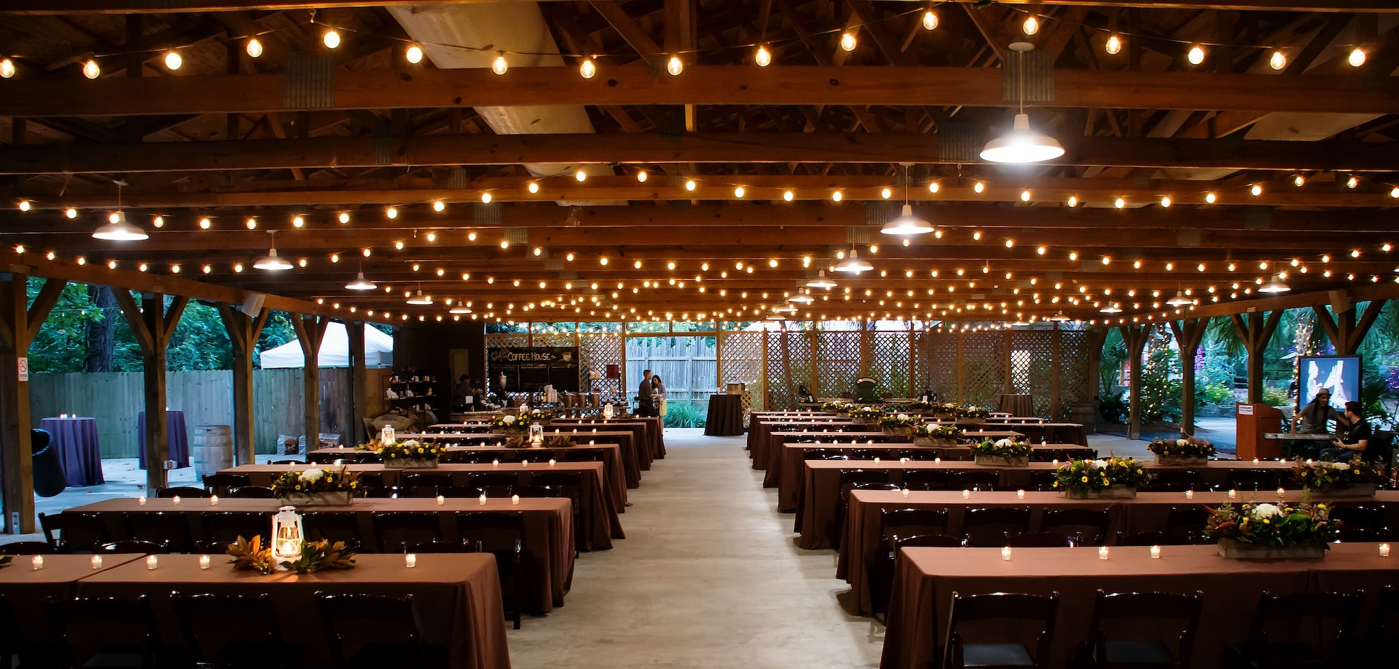 Safari Camp is a rustic outdoor Columbia, SC event venue.