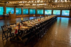 Family style event catering at Riverbanks Zoo in Columbia SC