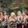 South Carolina Wedding Bridal Party at rustic and beautiful Riverbanks Zoo