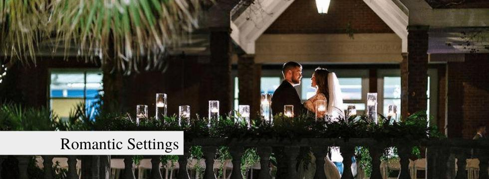 Riverbanks Zoo and Gardens weddings have romantic settings!