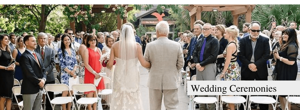 Have your wedding ceremony at Riverbanks Zoo and Gardens!